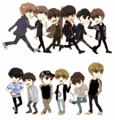 exo k&m Chibi - exo photo