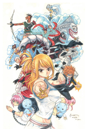 Fairy Tail Обои containing Аниме titled fairy tail
