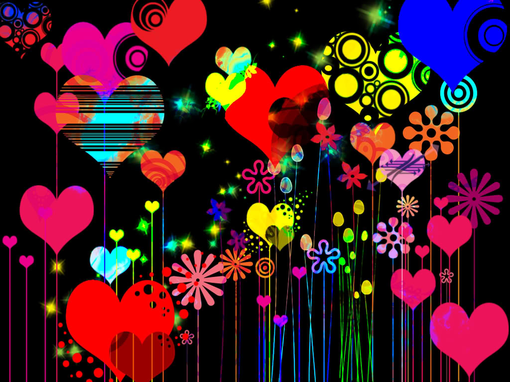 funky hearts images funky hd wallpaper and background photos 31082730