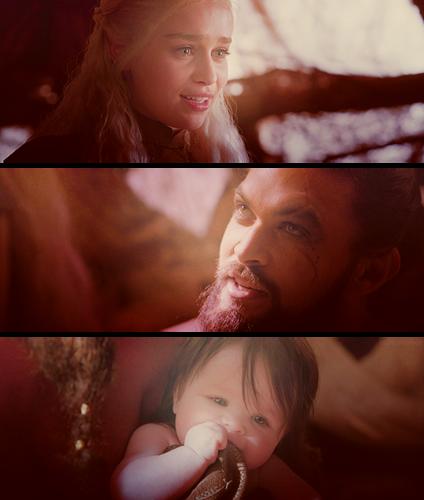 Daenerys Targaryen & Khal Drogo
