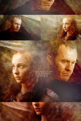 Stannis Baratheon & Sansa Stark