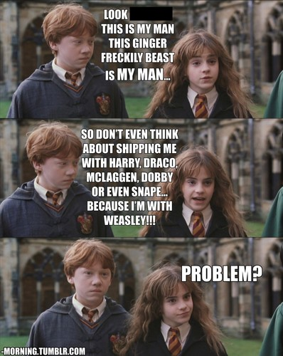 harry and hermione <3...NOT