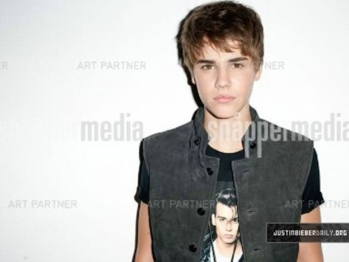 justin bieber old fhotoshoot