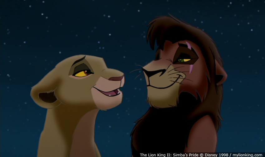 Lion King CouplesLion King 2 Kiara And Kovu Love Song