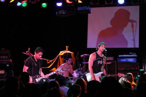 live ٹمٹم, gig, لٹو with his band Lost In Kostko at The Roxy on Sunset Blvd
