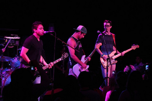 live gig with his band Lost In Kostko at The Roxy on Sunset Blvd