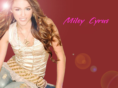 miley - miley-cyrus Wallpaper