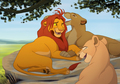 mom you're messing up my mane - lion-king-fathers-and-mothers photo