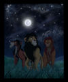mufasa, scar, and ahadi