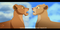old nala vs new nala - the-lion-king photo