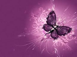 Butterflies wallpaper possibly with a star tulip, an embryonic cell, and a venus's flytrap titled pink butterfly