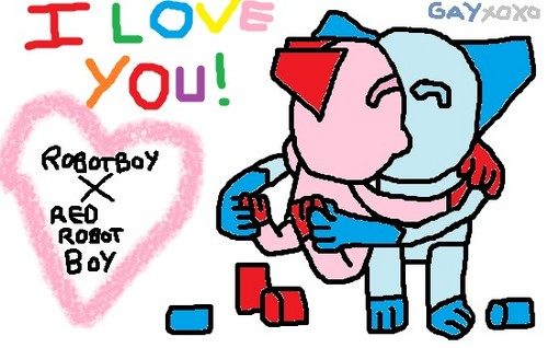 robotboy x red robotboy gay Liebe