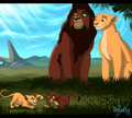 royal family - lion-king-couples fan art