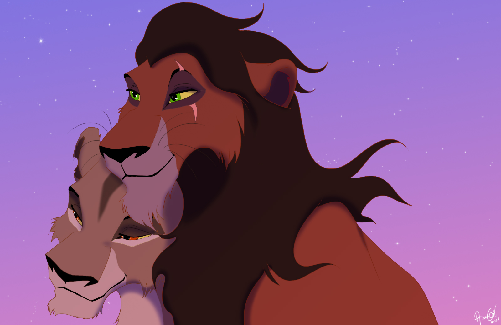 scar and zira - Lion King Couples Foto (31064827) - Fanpop