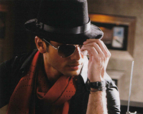 Shahid Kapoor wallpaper containing a fedora called shahid