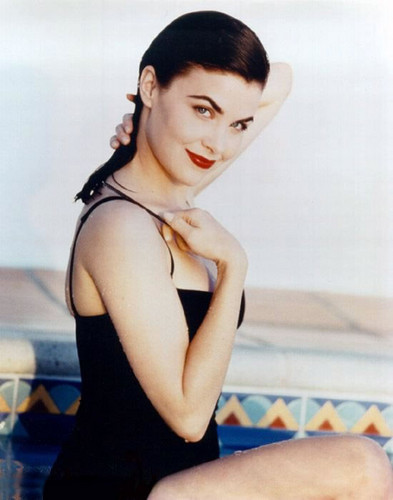 Sherilyn Fenn wallpaper possibly containing a leotard, a swimsuit, and a swimsuit titled sherilyn fenn