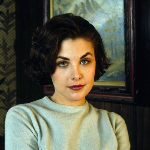 Sherilyn Fenn wallpaper probably with a pullover, a blouse, and a top titled sherilyn fenn