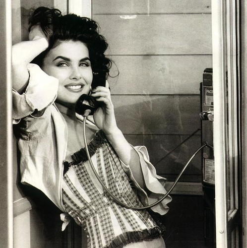 Sherilyn Fenn wallpaper containing a pay phone and a telephone booth entitled sherilyn