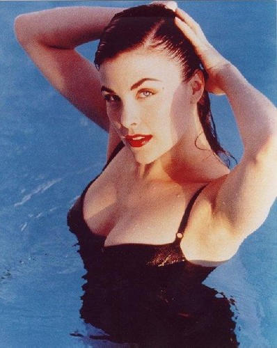 Sherilyn Fenn wallpaper probably containing a bikini, attractiveness, and skin titled sherilyn