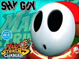 shy guy is here once agian
