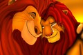simba and mufasa - the-lion-king photo