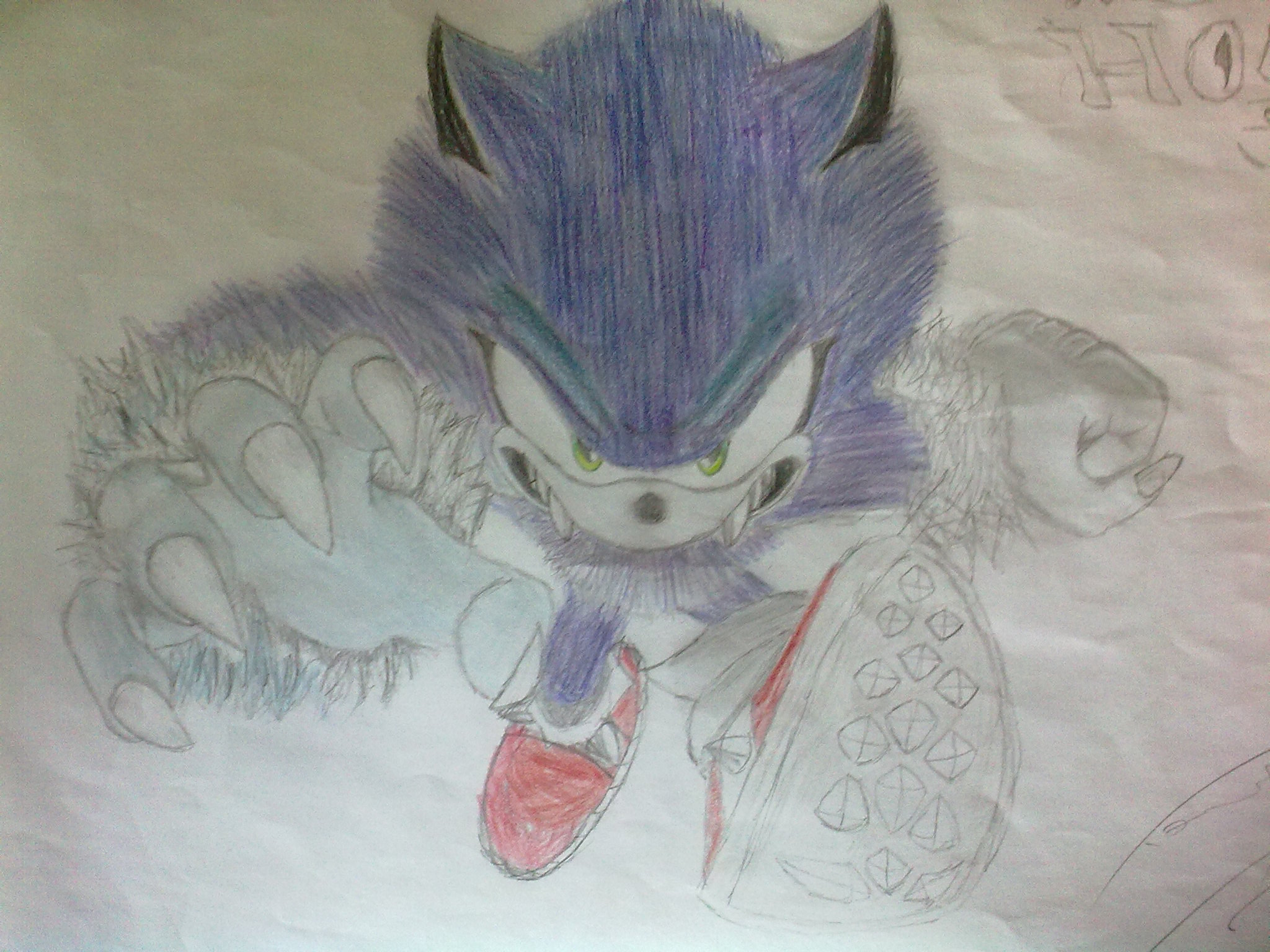 Shadow And Sonic Images Sonic The Werehog Hd Wallpaper And