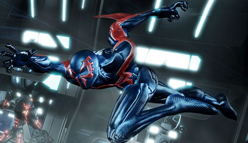 Spider Man 2099 Wallpaper: Spider-man Edge Of Time Images Spider-man 2099 Wallpaper