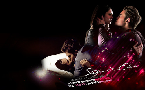 Stefan & Elena fond d'écran entitled stelenatvd.org fond d'écran