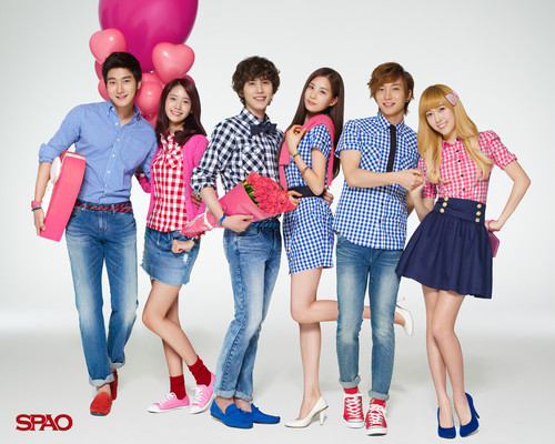 Super Generation: Super Junior & Girls' Generation wallpaper titled super generation