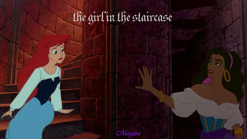 the girl in the staircase