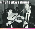 this is why ringo does the drums - im-a-loser photo