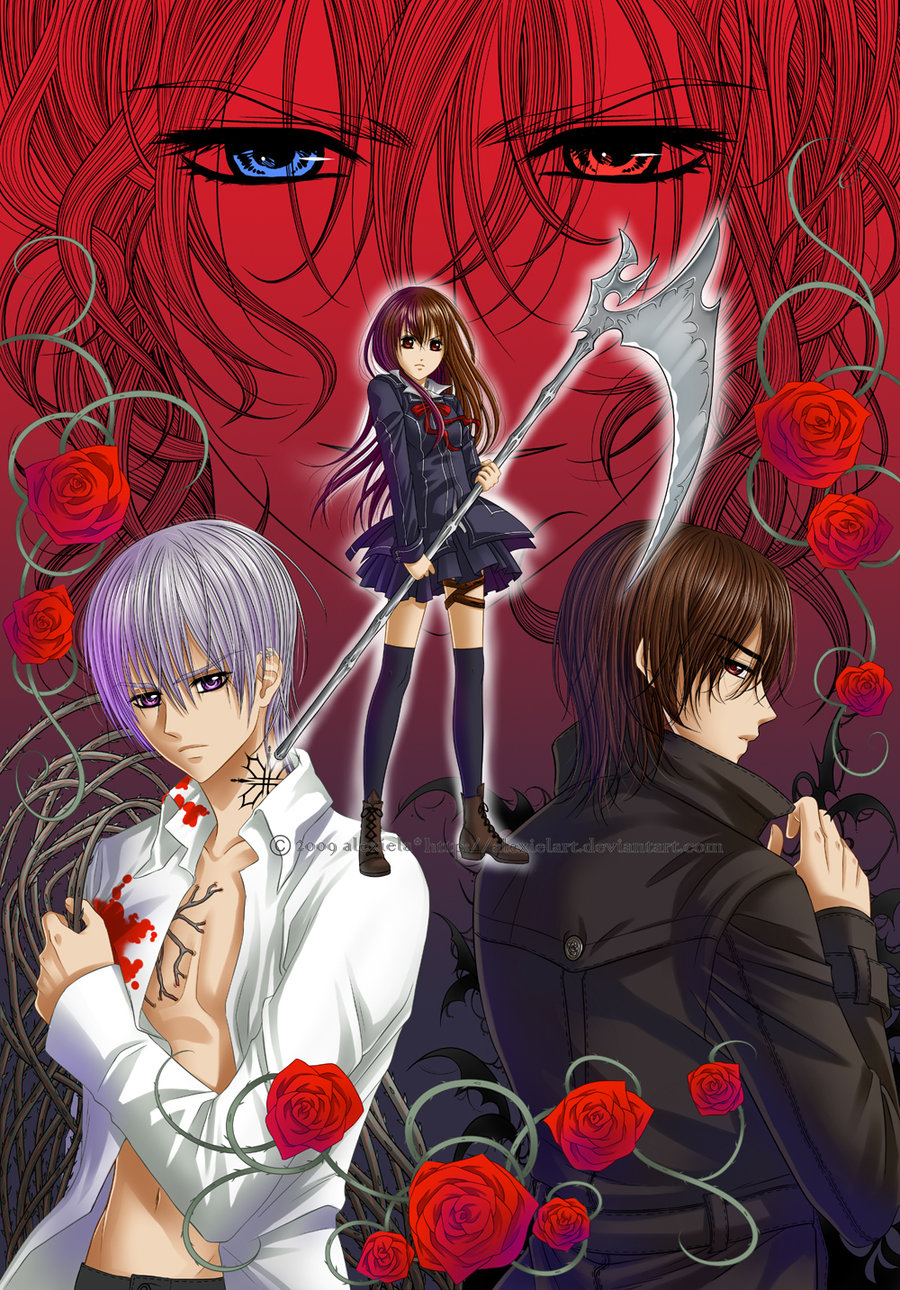 Anime Characters Zero : Vampire knight photo  fanpop
