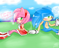 we need eachother SonAmy - sonic-and-amy photo