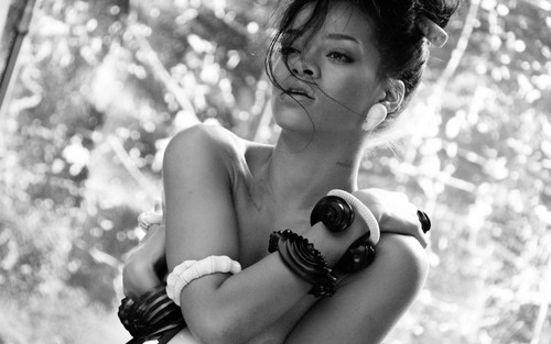 Rihanna wallpaper probably containing a street and a bikini titled where have you been shot