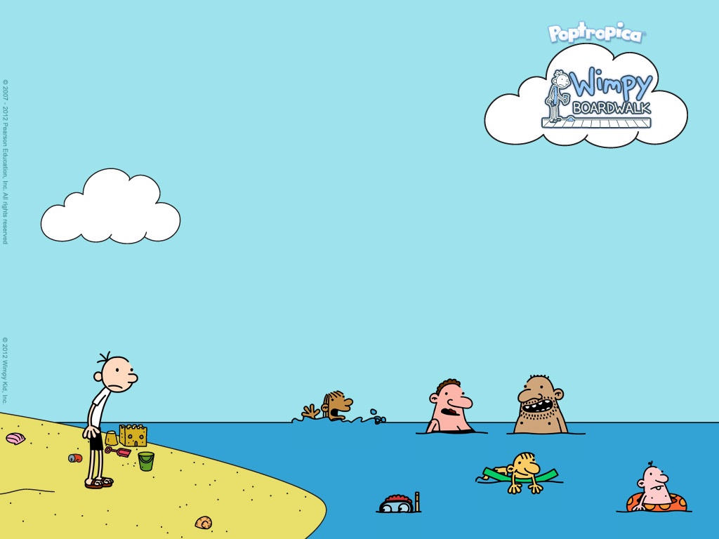 Diary Of A Wimpy Kid Cabin Fever Wallpaper