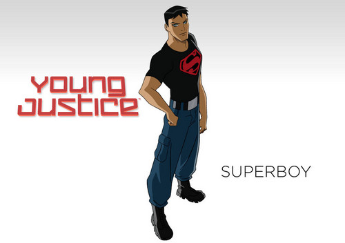in young justice superboy