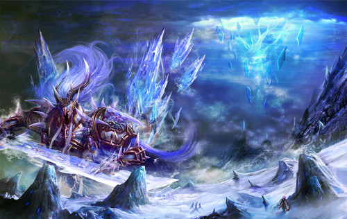 Fantasy wallpaper probably with a pacific sardine and an atlantic herring called ><><Drifting Spirit><><