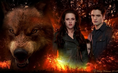♥ Jacob Protects Renesmee - Bella & Edward ♥