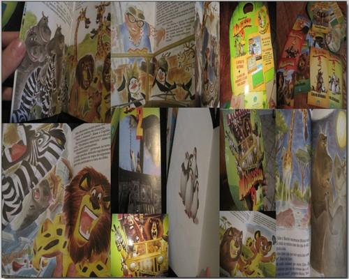 Madagascar 2 book aah :-D
