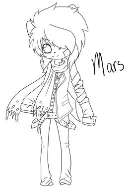~Mars Chibi~ (c) MysteryDiamond95