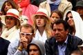 Rafael Nadal's mother Ana Maria Perera, sister Isabel Nadal and girlfriend Xisca Perello