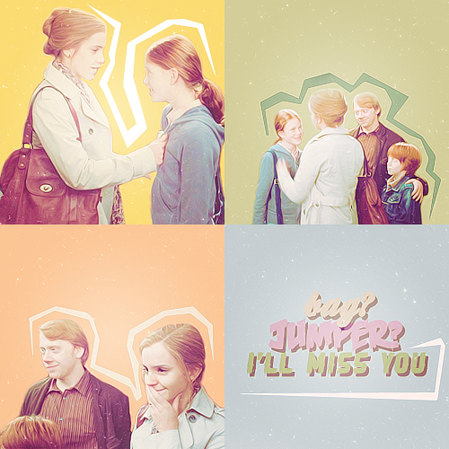 ~Rose, Hermione, and Ron~