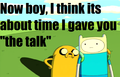 """The talk"" - adventure-time-with-finn-and-jake photo"