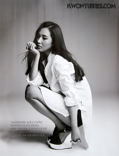 Yuri @ BAZAAR July Issue - The FLYING Girl