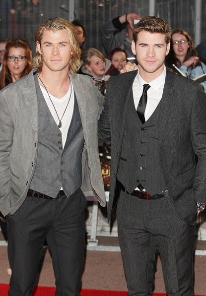 Chris & Liam Hemsworth images hemsworth wallpaper and ...