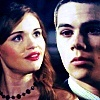 Stiles & Lydia تصویر containing a portrait titled → stiles/lydia;