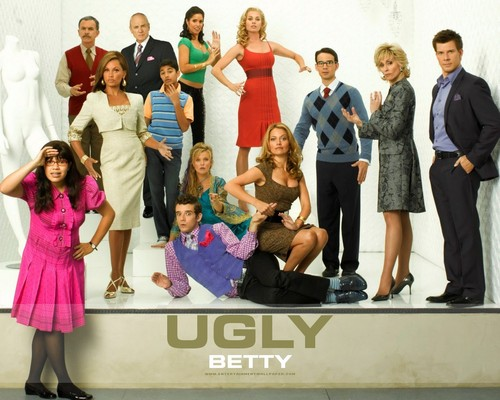 Ugly Betty wallpaper probably with a business suit called :)