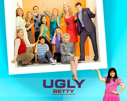 Ugly Betty wallpaper entitled :)