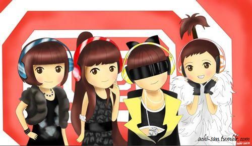 2NE1 Chibi's