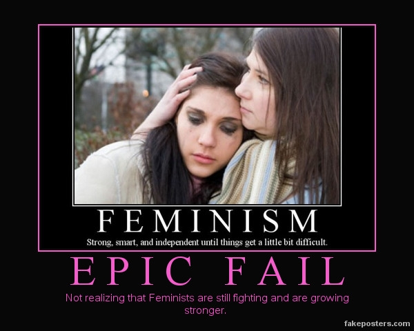 Feminism fail